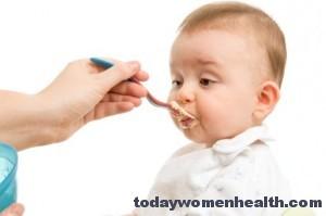 الغذاء الصحى للاطفال الاقل من سنتين