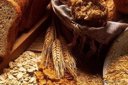 الحبوب الكاملة والخضروات للحصول على شعر صحى ولامع