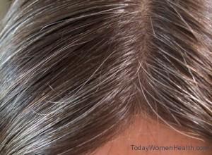 تخلصي من الشعر الأبيض