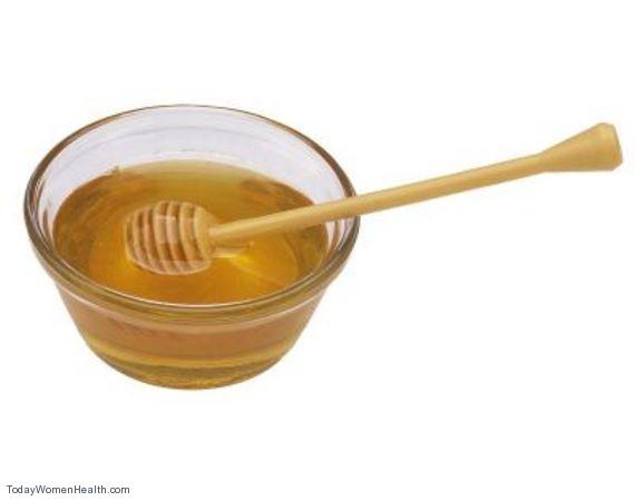 العسل لتفتيح الشعر