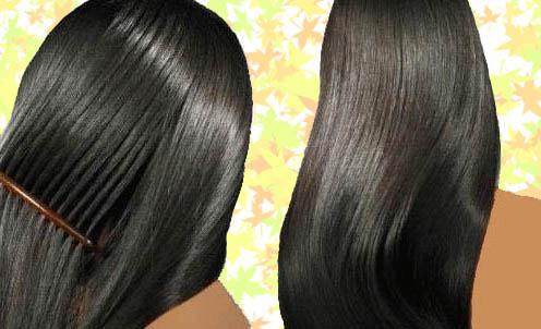 خلطات طبيعية لتمليس الشعر