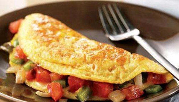 طبق البيض الأومليت على الطريقة المكسيكية