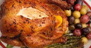 طريقة عمل الدجاج المشوى بالزبدة