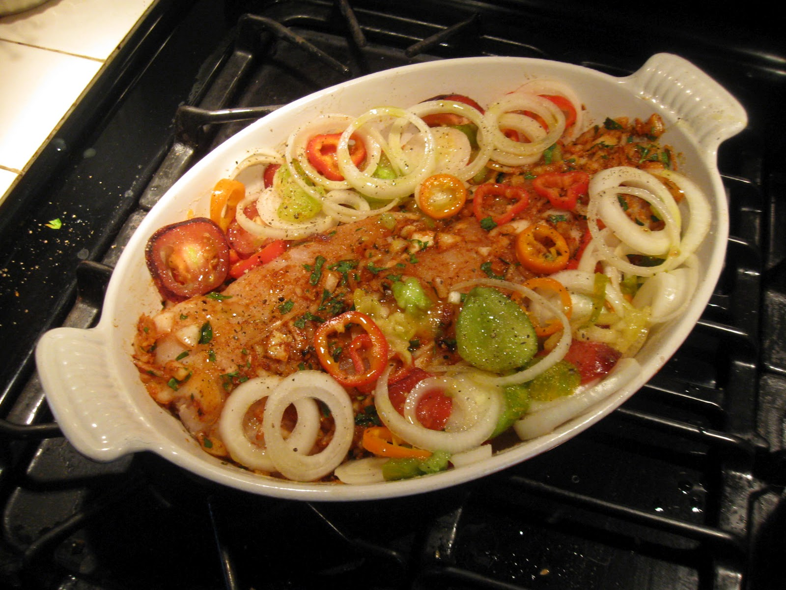 طريقة عمل فيليه السمك مع الخضار لرجيم صحي 8-ready-to-cook