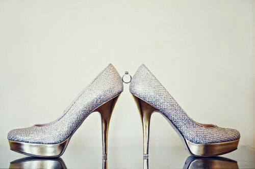 موديلات أحذية الزفاف في 2015