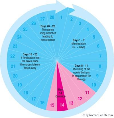عشرة اسباب لتأخر الدورة الشهرية