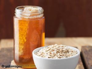 العسل والشوفان لزيادة الوزن وعلاج النحافة