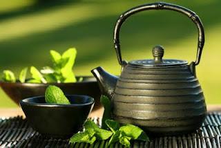 الشاى الاخضر والكركم