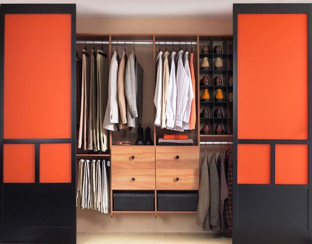 طرق مبتكرة لترتيب خزانة الملابس
