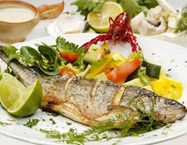 6 فوائد لتناول السمك