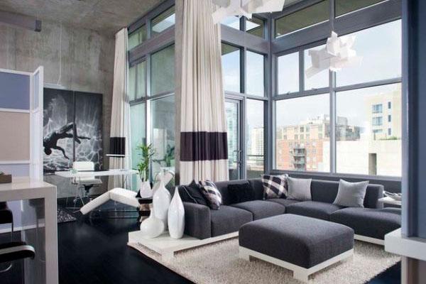 تصاميم ديكورات حديثة لغرف المعيشة والجلوس