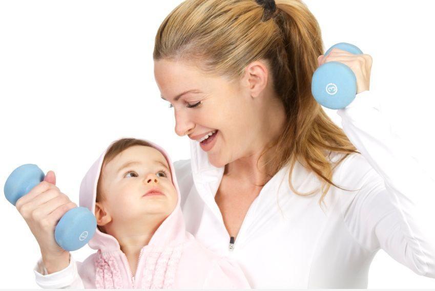 نصائح لاستعادة رشاقتك بعد الحمل.