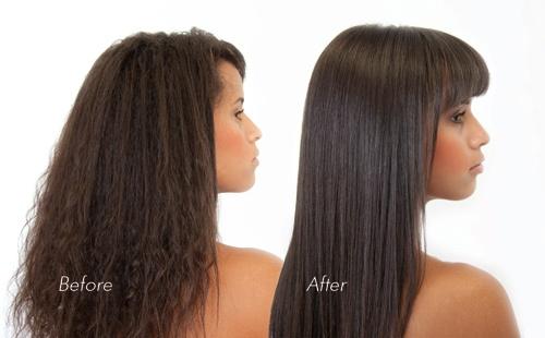 طريقة تنعيم الشعر المجعد